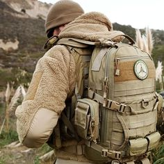 Light fleece jacket and excellent military grade pack