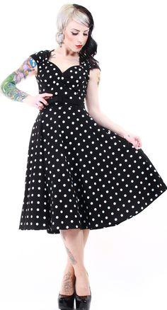 Polka dot dress!
