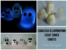 Ghoulish Illumination- Light Cover Ghosts