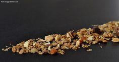 müsli selbstgemacht / homemade granola