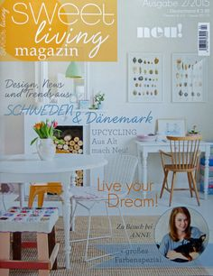 Zeitschrift Living And More syl for living magazine http weloveliving de