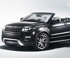 Land Rover's Range Rover Evoque Convertible Concept...Amazing!