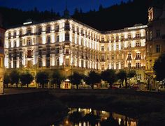 The Hotels of James Bond (that any Kennedy's Gentleman would want to visit): Grandhotel Pupp in Karlovy Vary, Czech Republic.