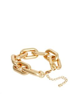 Enlarge ASOS Chunky Link Chain Bracelet
