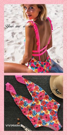 76bc9d004e620 253 Best Beachwear images in 2019   Summer time, Swimsuit, Beach attire