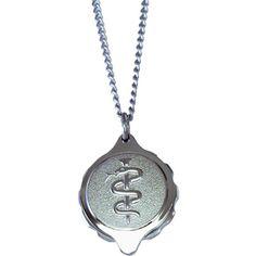 silver medical tags talisman - Google-haku