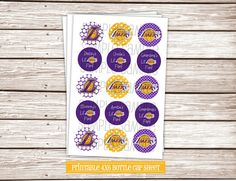 Buy+2+Get+1+FREE+Lil+Laker+Fan+DIY+1+Bottle+by+MonkeyDoodleParties,+$2.25