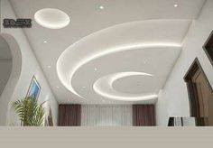 Cheap And Easy Cool Tips: Curved False Ceiling Design false ceiling bedroom Ceiling Bedroom 2018 false ceiling dining spaces.Wooden False Ceiling Home. False Ceiling Living Room, Ceiling Design Living Room, Living Room Designs, Living Rooms, Bedroom Designs, Simple Ceiling Design, Bedroom False Ceiling Design, Restaurant Design, Ceiling Chandelier