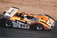 Tony Adamowicz - McLaren M8B Chevrolet - Auto World - 14th Annual Los Angeles Times Grand Prix 1971 - Canadian-American Challenge Cup, round 10