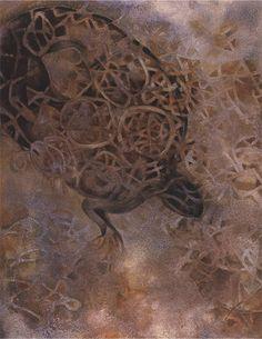 Francisco Toledo - Falling Turtle
