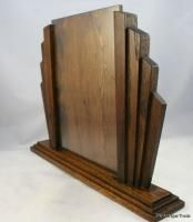 1930s Luxury British Art Deco period vintage wooden Picture Frame 14 inches wide