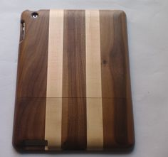 real wood iPad case. coolest.