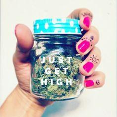 JUST GET HIGH . #JUSTGETHIGH #indica #cannabis #weed #weedstagram #smokeweedeveryday #pothead #maryjane #green #ganja #letsgethigh #stoner #terps #hrbnlife #dank #maryjane #thc #kush #dope #drugs #stonernation #420 #710 #highlife #herb #lit #blaze Weed Drug, Weed Pictures, Stash Jars, Stoner Girl, Ganja, Bongs, Cannabis, Mary Janes, 420 Girls