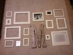more picture frame collages