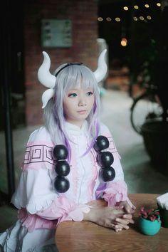 Adult kanna cosplay  by Hazelboamiki