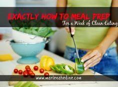 How to Meal Prep, Batch cooking, Clean eating