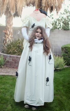 This super-spooky headless bride. | 21 Awesome Kid's Halloween Costumes To Start Making Now