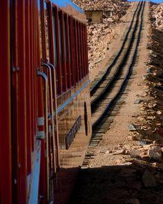 Pikes Peak cog railway     by Jim Hill, via 500px