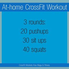 On my to do list. I like simple workouts- and bonus this doesn't have a burpee! (Hate those things.)