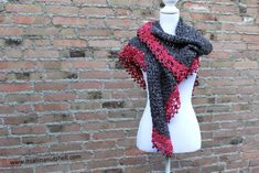 095d65f11a0 Free Crochet Patterns Touch Of Velvet Wrap Free Crochet Pattern Its All In  A Nutshell