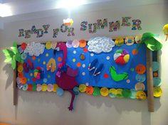 Summer Classroom Decorations Ideas : Beach theme decorations classroom decorating ideas summer