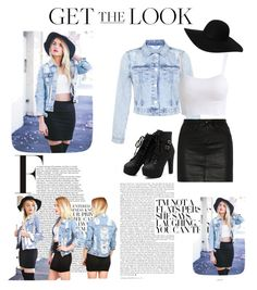 Wrecked jacket Style by updatesfashion on Polyvore featuring polyvore fashion style Miss Selfridge rag & bone/JEAN Monki