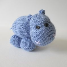 Higgins the Hippo shared on the LoveKnitting Community