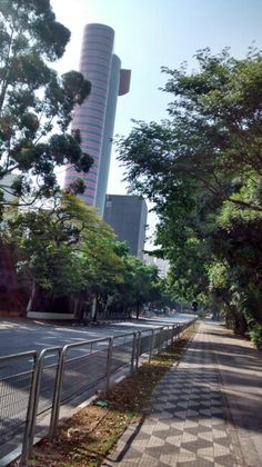 Calçada Av. Faria Lima/São Paulo
