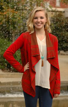 Aztec You Not Sweater, $59.99