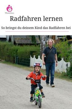 Wie bringt man Kindern am besten das Radfahren bei? Und worauf muss man achten beim Kauf des ersten Fahrrads? Mamaclever hat sich für euch schlau gemacht. #Radfahren #lernen #beibringen #erstesRad
