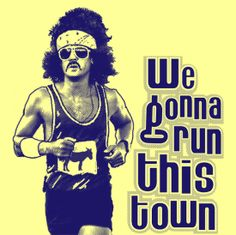 Run This Town Tonight Funny Running Shirt