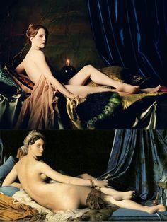 "Michael Thompson, ""Julianne Moore as Dominique Ingres' 'La Grande Odalisque'"", Vanity Fair, 2003"
