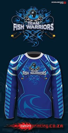 cool fishing shirt logo, team fish warriors Sport Shirt Design, Gamer Shirt, Sublime Shirt, Running Shirts, Fishing Shirts, Sports Shirts, Shirt Designs, Graphic Sweatshirt, Sweatshirts