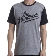 The Hundreds Conrad Tee (Athletic Heather) $37.95 The Hundreds, Athletic, Tees, Mens Tops, T Shirt, Fashion, Supreme T Shirt, Moda, T Shirts