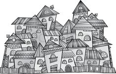 fairy tale castle construction paper - Google Search