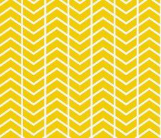 chevron stripe in gold fabric by ninaribena on Spoonflower - custom fabric  Window seat pillow fabric