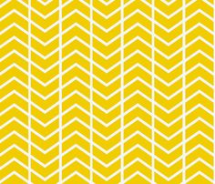 chevron stripe in gold fabric by ninaribena on Spoonflower - custom fabric  Window seat pillow fabric