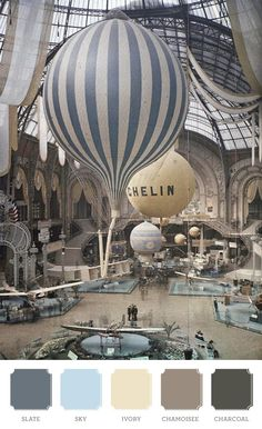 at Grand Palais, The first air show at the Grand Palais in Paris, France. September Photographed in Autochrome Lumière by Léon GimpelThe first air show at the Grand Palais in Paris, France. September Photographed in Autochrome Lumière by Léon Gimpel Belle Epoque, Zeppelin, Color Photography, Vintage Photography, Time Photography, Photography Projects, Aerial Photography, Street Photography, Landscape Photography