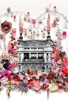 Commission for Printemps celebrating their 150 years anniversary by Anne Ten Donkelaar