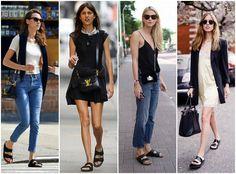 Fashion Fade Magazine : More Ways To Wear The Birkenstock /Sliders Trend