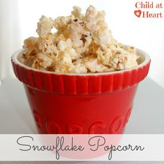 "This popcorn is my new favorite snack to make for large groups.  I made it for my brother's rehearsal dinner and it was gone in five minutes.  I made it last night for my craft party and they loved it too.  It's so addicting!  This is from a cookbook that my mother in law made for a bunch of us and there will be many more recipes  to come from ""Saundie a.k.a.Gabby.""  This recipe was …"