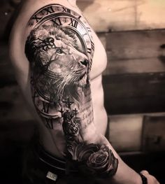 Top Tatuagens on Ins Lion Forearm Tattoos, Lion Head Tattoos, Mens Lion Tattoo, Arm Tattoos For Guys, Hand Tattoos, Maori Tattoos, Lion Tattoos For Men, Lion Arm Tattoo, Full Hand Tattoo