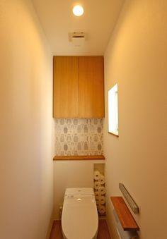 オープンハウス – Framy House – 名古屋市の住宅設計事務所 フィールド平野一級建築士事務所 Storage Room, Bathroom Storage, Interior, Wall, House, Home Decor, Washroom, Toilets, Pantry Room