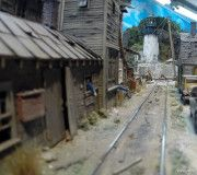 Franklin and South Manchester Gallery 2 ‹ vikas chander Scale Model Architecture, South Manchester, Model Train Layouts, Model Trains, Scale Models, Shelving, Scenery, Gallery, Mini