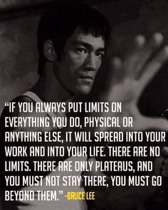 Words to live by.... #jkd #brucelee
