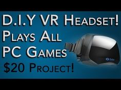 How to Build a Virtual Reality HMD for $20! Tutorial Overview Video by Ohaple