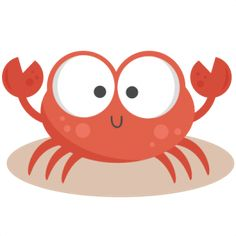 Daily Freebie Miss Kate Cuttables--Crab SVG cutting files for scrapbooking ocean svg cut files ocean svg cuts beach svg files