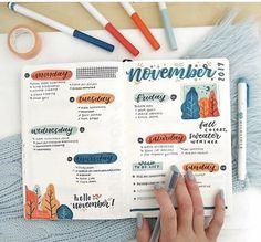 Bullet Journal Month, Bullet Journal Banner, Bullet Journal Notebook, Bullet Journal School, Bullet Journal Ideas Pages, Bullet Journal Layout, Bullet Journals, Bujo, To Do Planner