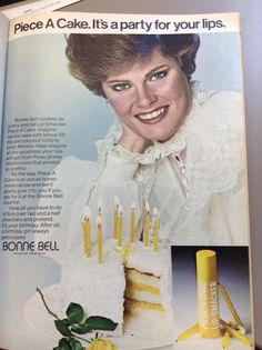 Bonne Bell!  I remember this! 1978 ad.