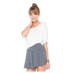 Brandy Melville Luma Skirt NWOT Luma / 1 baby blue + 1 floral available / NO TRADES Brandy Melville Skirts
